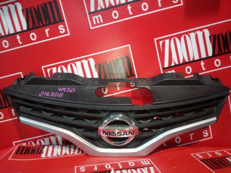 Решетка радиатора Nissan Nv200 VM20 HR16DE 2009 передняя серый
