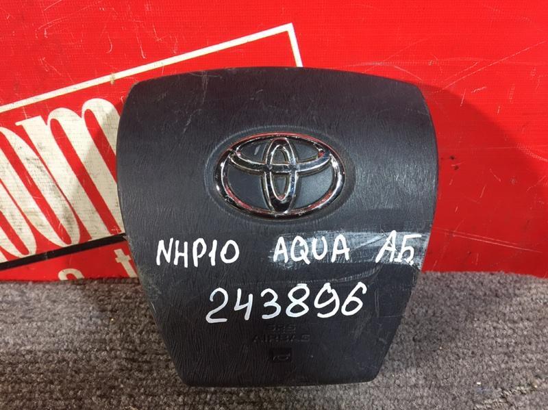 Аирбаг Toyota Auqa NHP10 1NZ-FXE 2011 передний черный