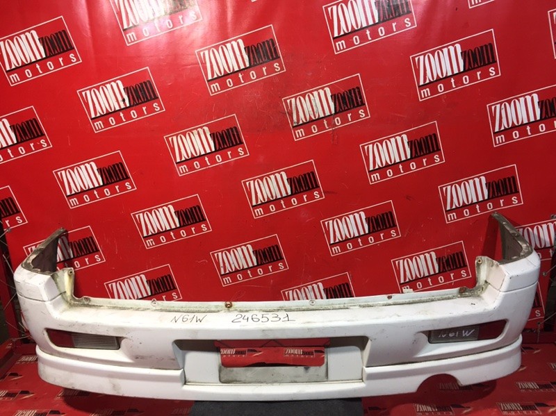 Бампер Mitsubishi Rvr N61W 4G64 1997 задний белый