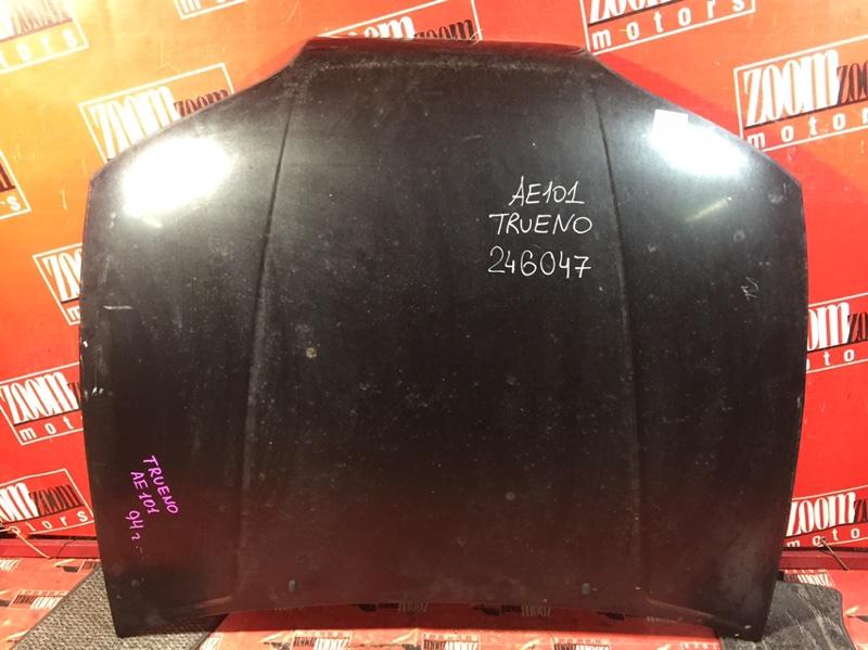 Капот Toyota Sprinter Trueno AE101 4A-FE 1992 передний черный