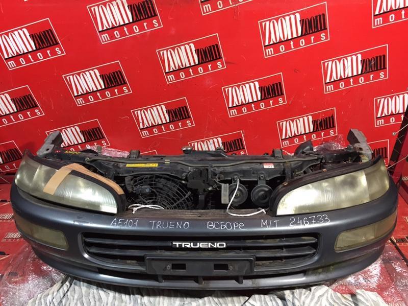 Nose cut Toyota Sprinter Trueno AE101 4A-FE 1993 передний темно-серый