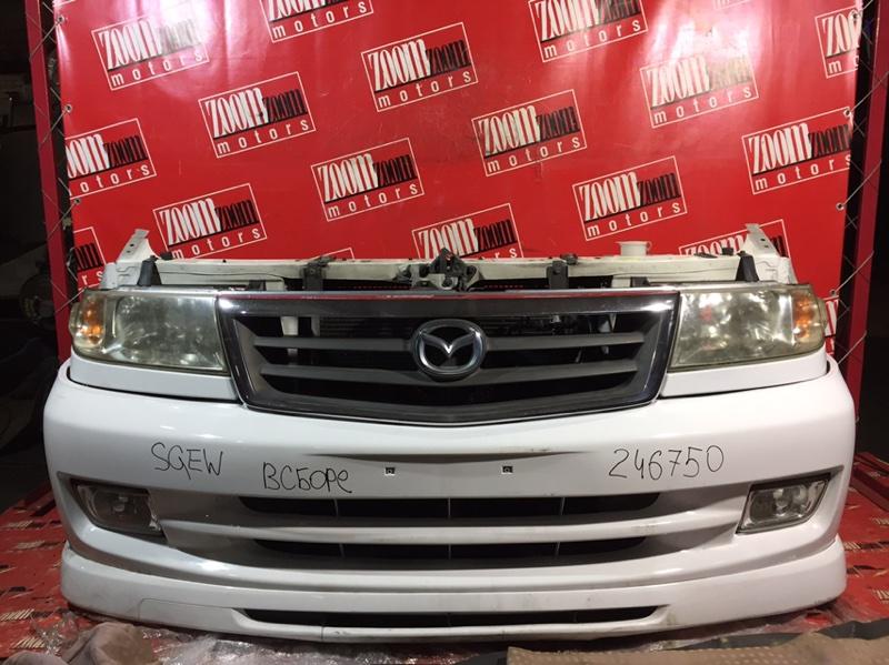 Nose cut Mazda Bongo Friendee SGEW 1999 передний белый