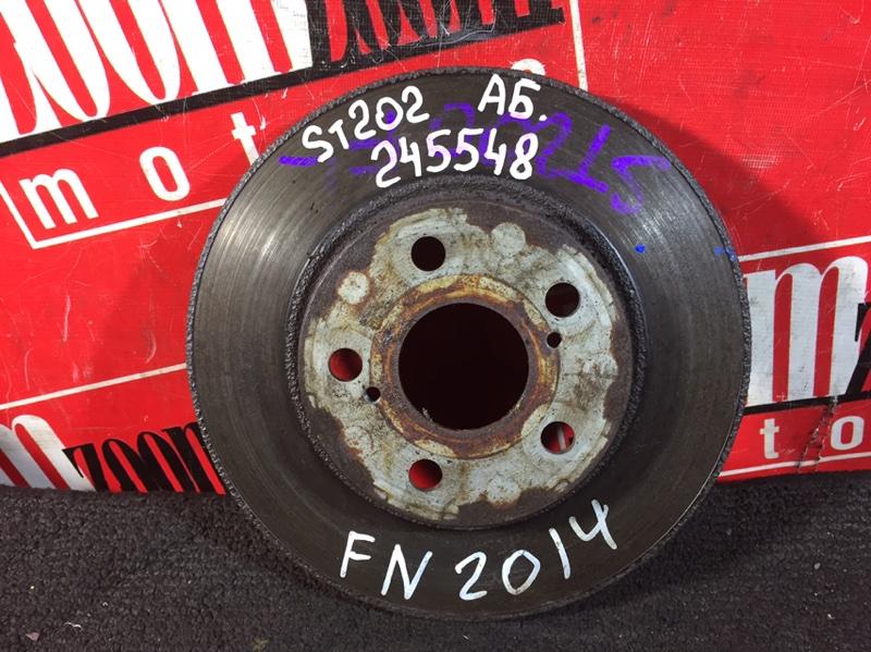 Диск тормозной Toyota Carina Ed ST202 3S-FE 1993 передний