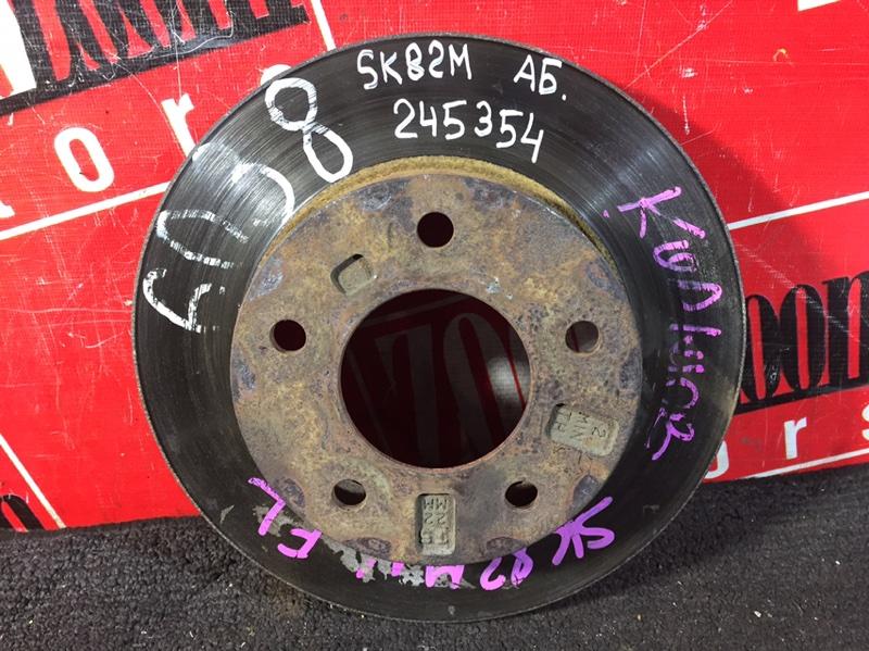 Диск тормозной Mazda Bongo SK82M F8 1999 передний