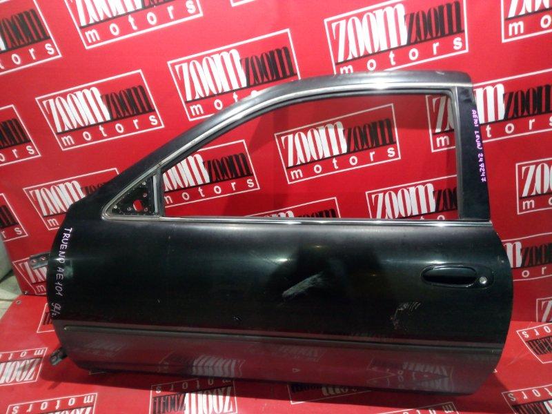 Дверь боковая Toyota Corolla Levin AE101 4A-GE 1991 левая черный