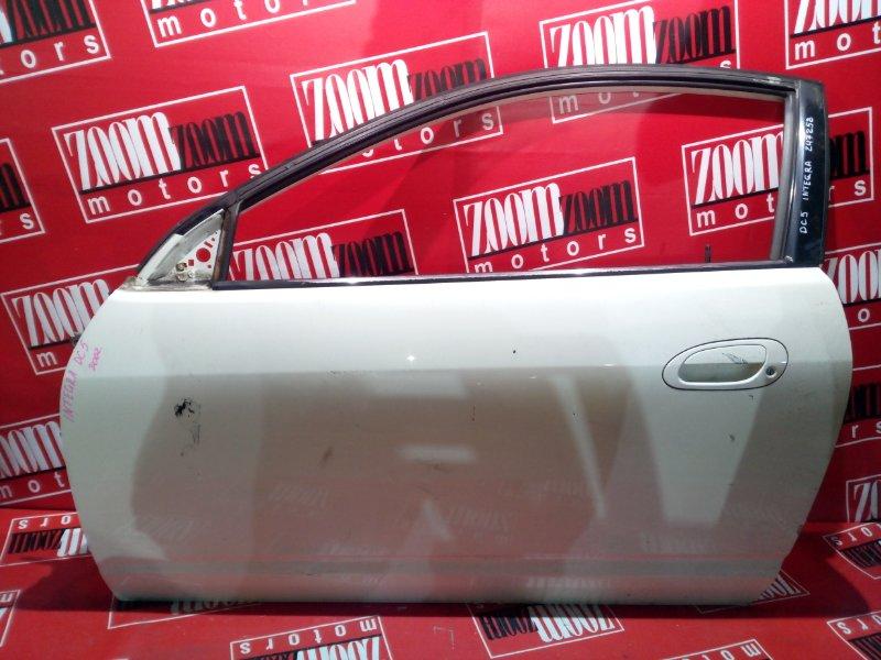 Дверь боковая Honda Integra DC5 K20A 2001 левая белый перламутр