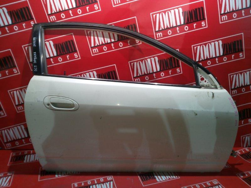 Дверь боковая Honda Integra DC5 K20A 2001 правая белый перламутр