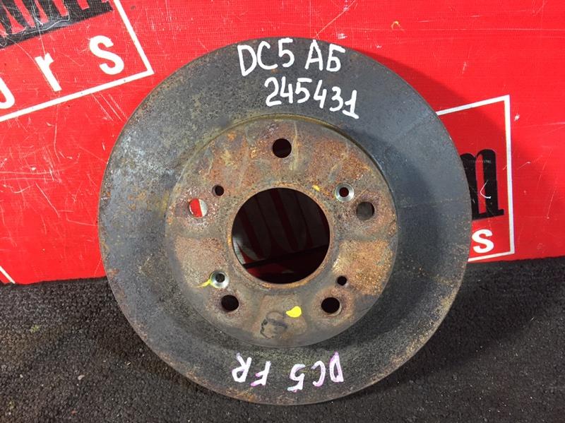Диск тормозной Honda Integra DC5 K20A 2001 передний