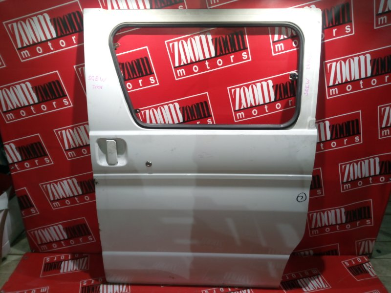 Дверь боковая Mazda Bongo Friendee SGEW FE-E 1999 задняя левая белый