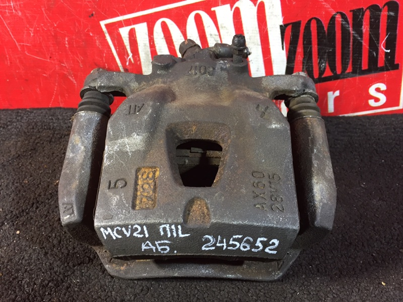 Суппорт Toyota Mark Ii Qualis MCV21 2MZ-FE 1996 передний левый 60-17