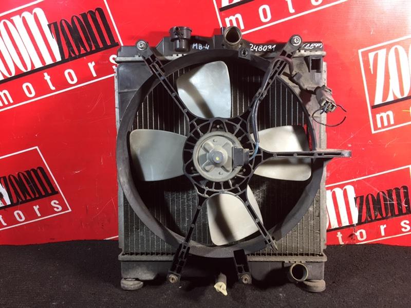 Радиатор двигателя Honda Domani MB4 D15B 1996 передний