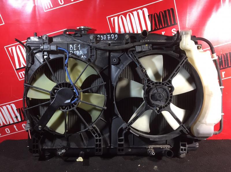 Радиатор двигателя Honda Edix BE1 D17A 2004 передний