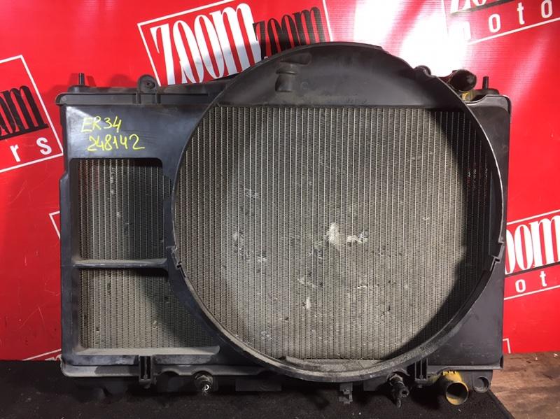 Радиатор двигателя Nissan Skyline ER34 RB20DE