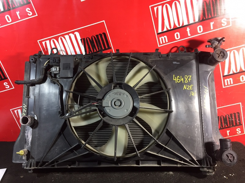 Радиатор двигателя Toyota Corolla Axio NZE141 2006