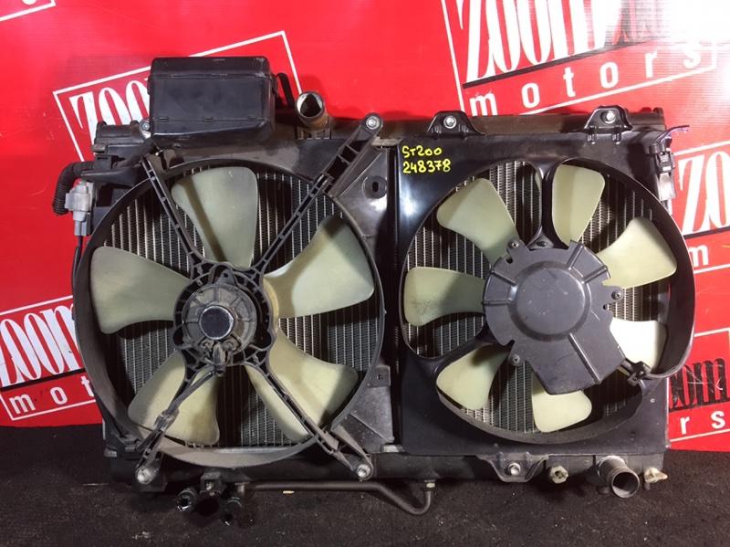 Радиатор двигателя Toyota Carina Ed ST202 4S-FE 1995
