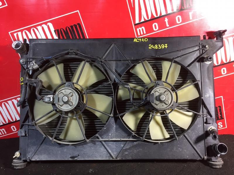 Радиатор двигателя Toyota Opa ACT10 1AZ-FSE 2001
