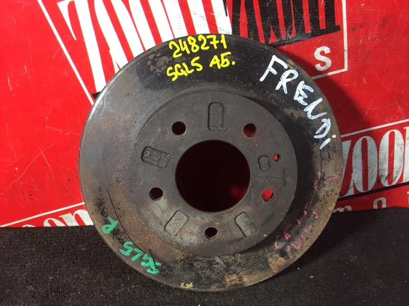 Диск тормозной Mazda Bongo Friendee SGL5 передний