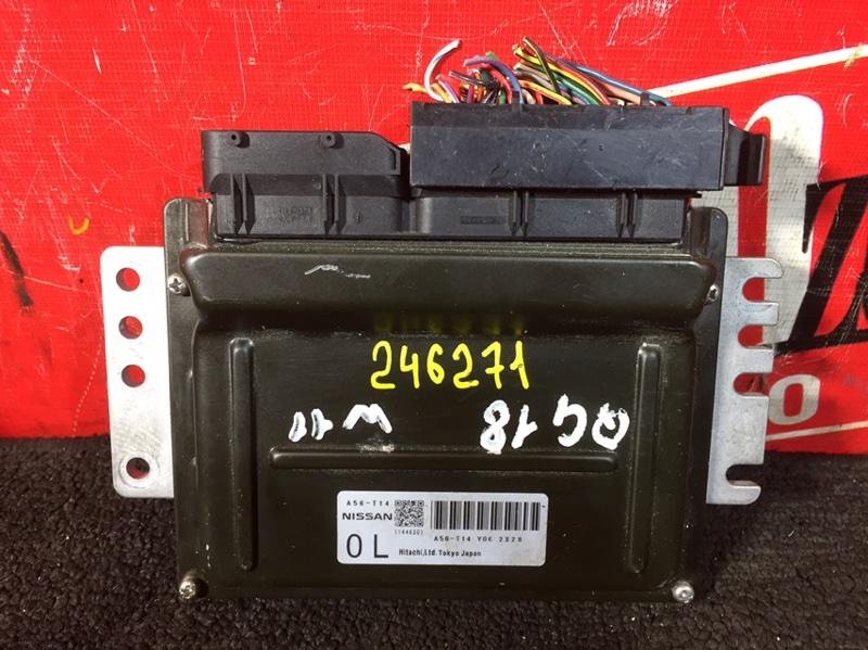 Компьютер (блок управления) Nissan Bluebird Sylphy TG10 QG18DE 2001 A56-T14 Y06 2X28