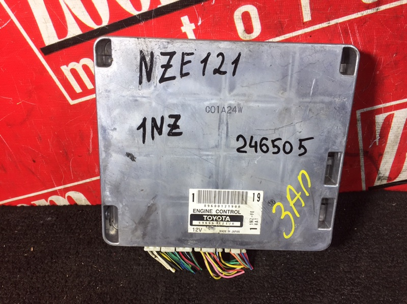 Компьютер (блок управления) Toyota Corolla Fielder NZE121 1NZ-FE `2001 89666-12170