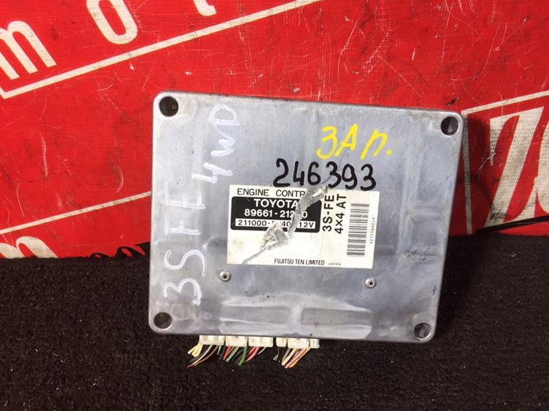 Компьютер (блок управления) Toyota Caldina ST215 3S-FE 1997 89661-212