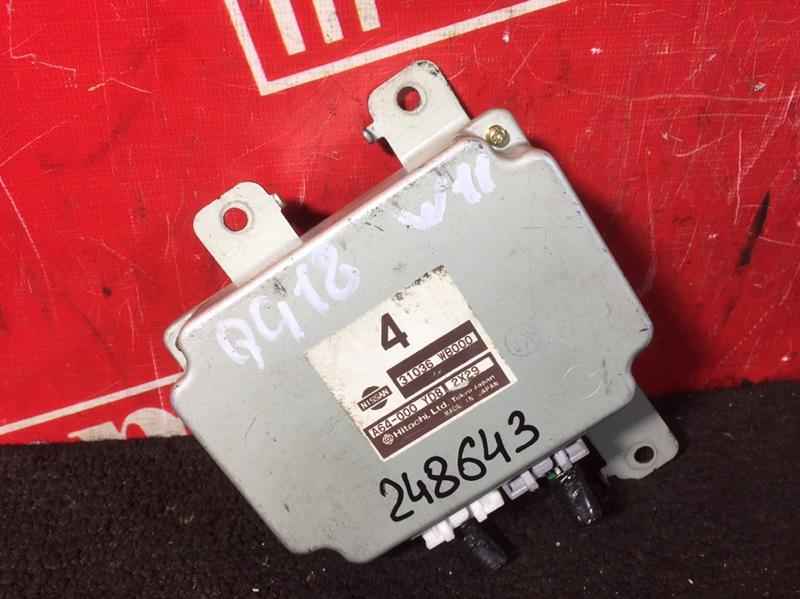 Компьютер (блок управления) Nissan Bluebird EU14 QG18DE 1997