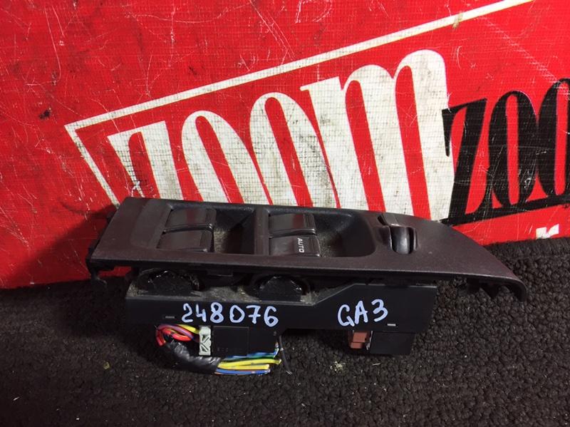 Блок управления стеклоподъемниками Honda Logo GA3 D13B 2000 передний правый
