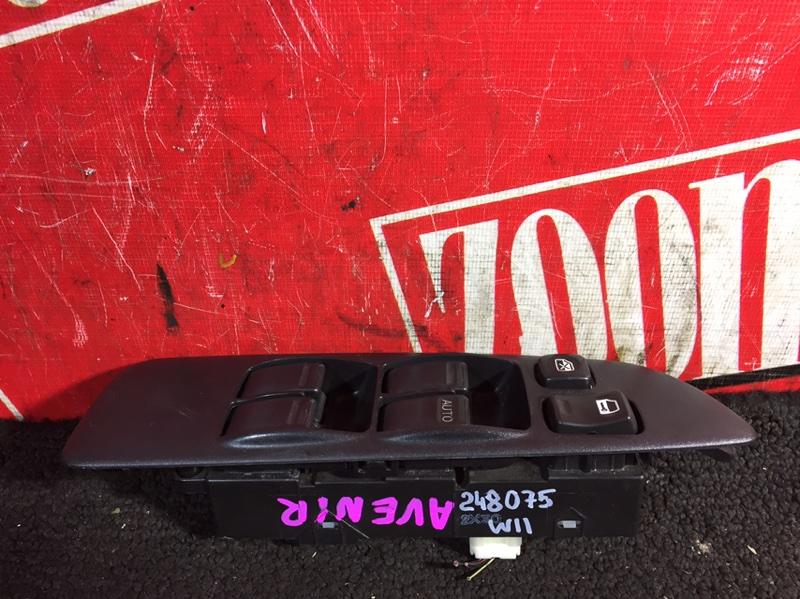 Блок управления стеклоподъемниками Nissan Avenir W11 QG18DE 1998 передний правый