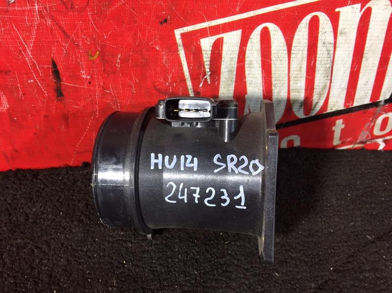 Расходомер (датчик расхода воздуха) Nissan Bluebird EU14 SR20DE 1996 22680-5J00