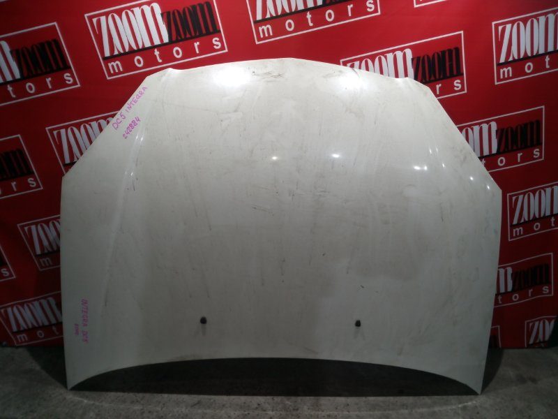 Капот Honda Integra DC5 K20A 2001 белый