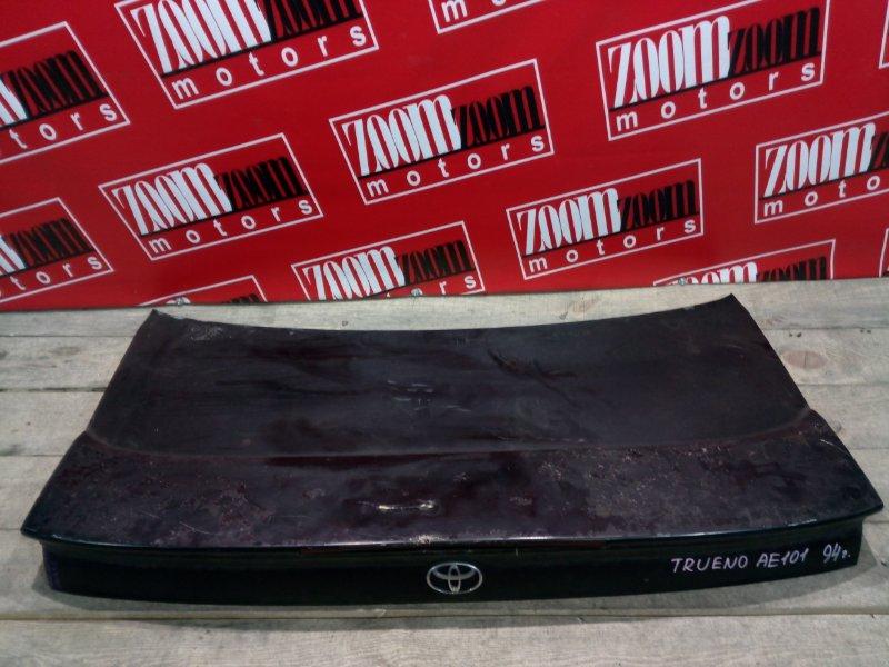 Крышка багажника Toyota Corolla Levin AE101 4A-GE 1991 задняя черный