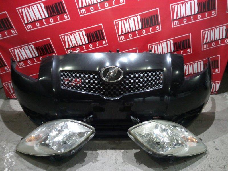 Nose cut Toyota Vitz KSP90 1KR-FE 2005 передний черный