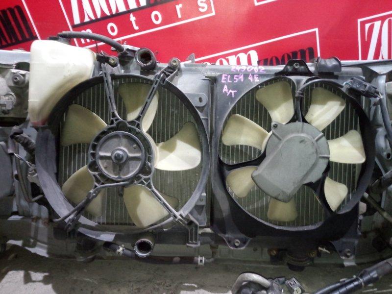 Радиатор двигателя Toyota Tercel EL51 4E-FE 1997 передний