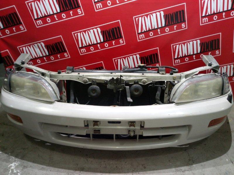 Nose cut Toyota Corona Exiv ST200 3S-FE 1993 передний белый перламутр 20-340