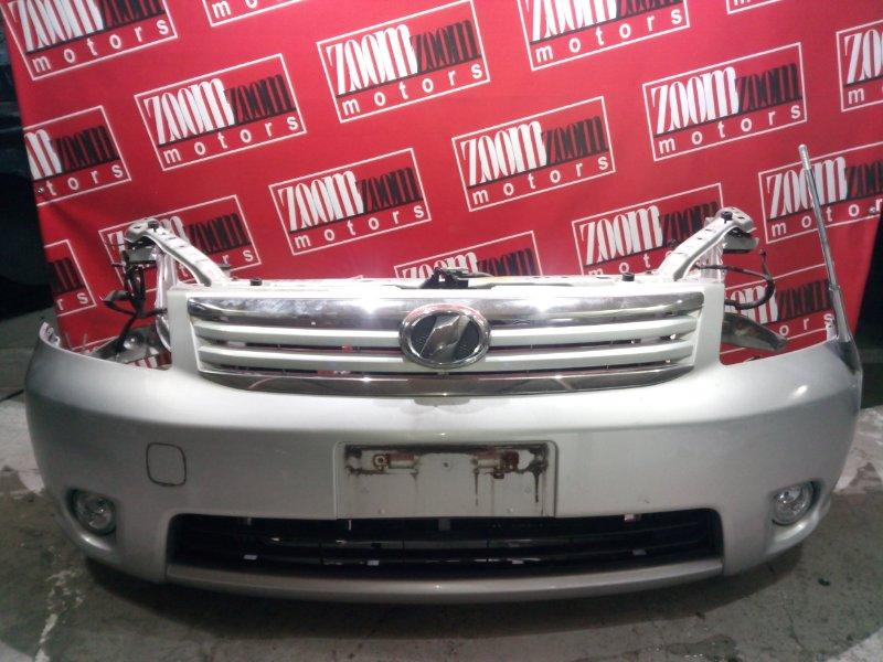 Бампер Toyota Raum NCZ20 1NZ-FE 2006 передний серебро