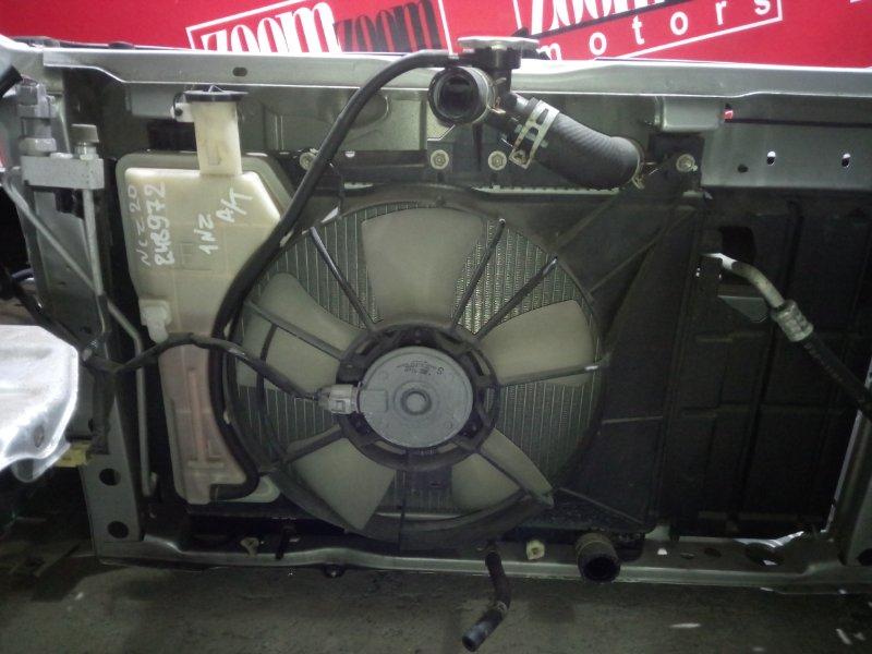 Радиатор двигателя Toyota Raum NCZ20 1NZ-FE 2006