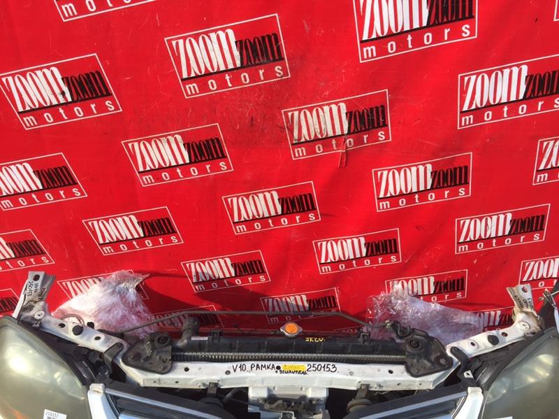 Рамка радиатора Nissan Tino HV10 SR20DE 1998 передняя белый
