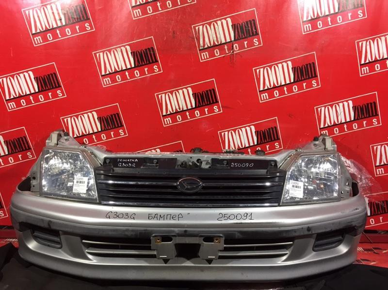 Бампер Daihatsu Pyzar G303G HE-EG 1998 передний серебро