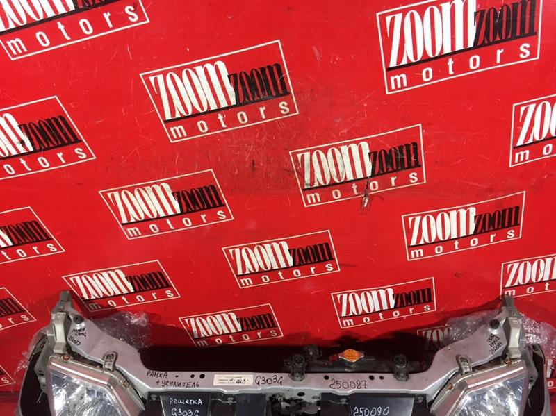 Рамка радиатора Daihatsu Pyzar G303G HE-EG 1998 передняя серебро