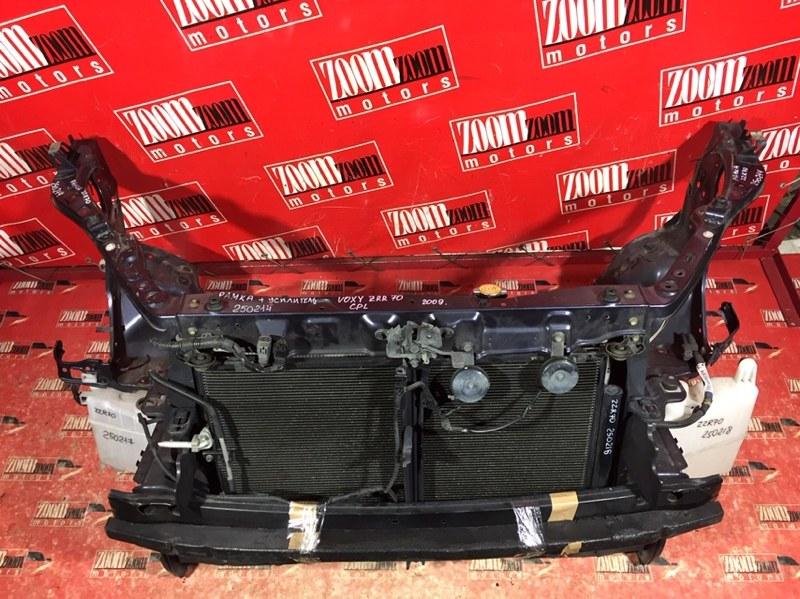 Рамка радиатора Toyota Voxy ZRR70 3ZR-FE 2007 передняя черный