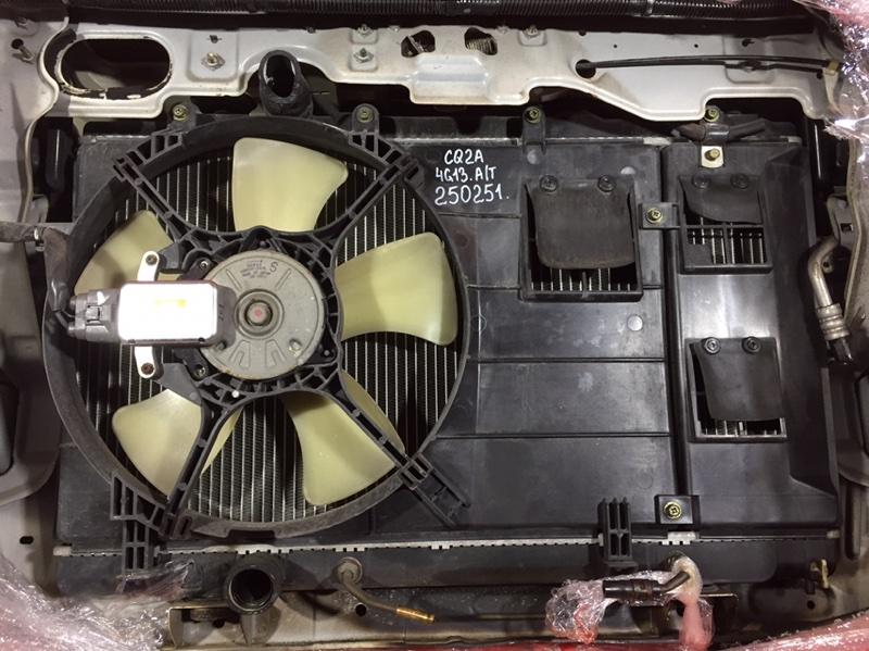 Радиатор двигателя Mitsubishi Dingo CQ2A 4G13 2001