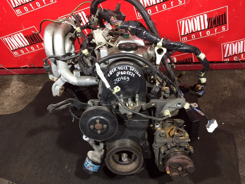 Двигатель Mitsubishi Dingo CQ1A 4G13 1998 BQ5521