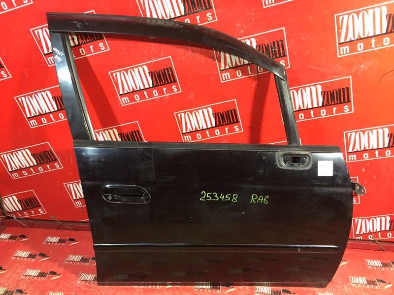 Дверь боковая Honda Odyssey RA6 F23A 1999 передняя правая черный