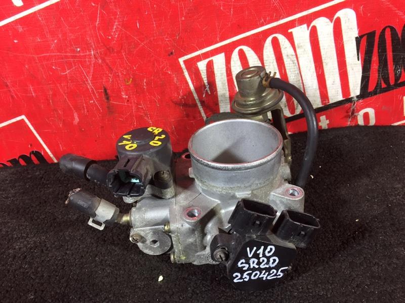 Заслонка дроссельная Nissan Tino HV10 SR20DE 1998
