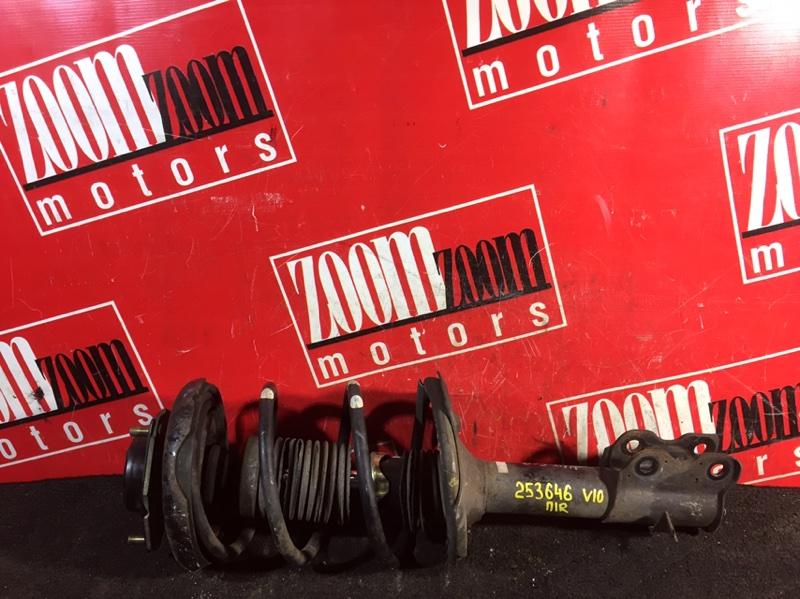 Стойка подвески Nissan Tino V10 SR20DE 1998 передняя правая