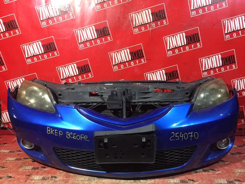 Nose cut Mazda Axela BKEP LF-DE 2005 передний синий
