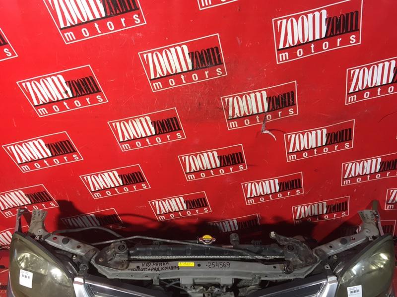 Рамка радиатора Nissan Tino V10 QG18DE 1998 передняя серебро