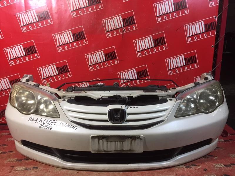 Nose cut Honda Odyssey RA6 F23A 1999 белый перламутр