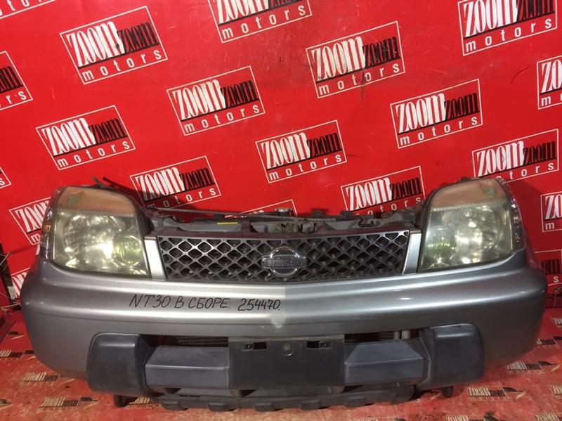 Nose cut Nissan X-Trail NT30 QR20DE 2000 передний серебро