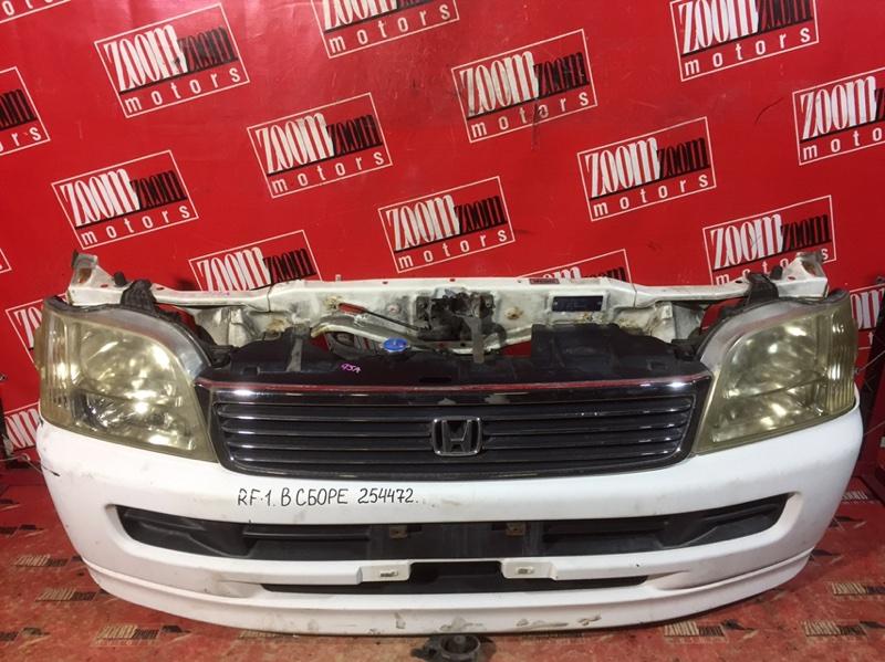 Nose cut Honda Stepwgn RF1 B20B 2000 передний белый