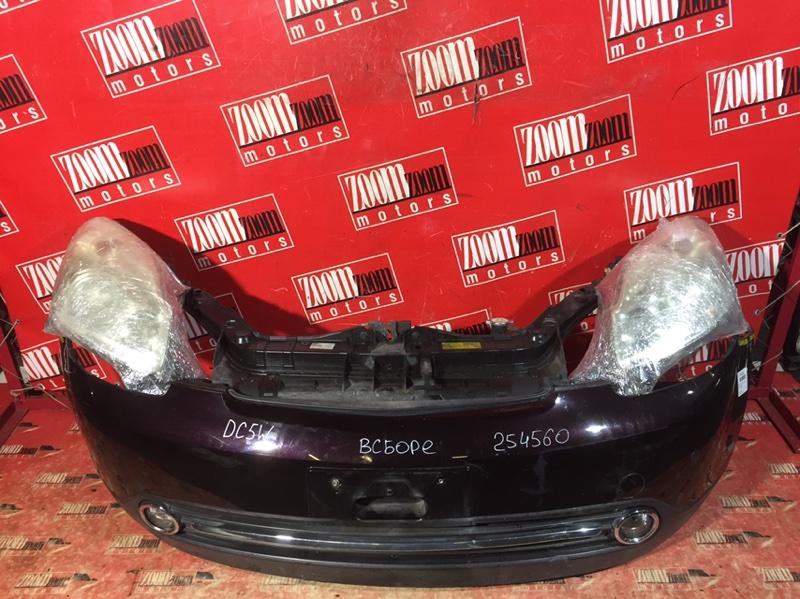 Nose cut Mazda Verisa DC5W ZY-VE 2004 передний баклажановый